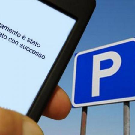 Parcheggio sulle strisce blu