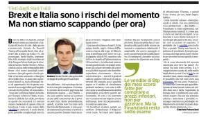 I rischi Brexit e Italia